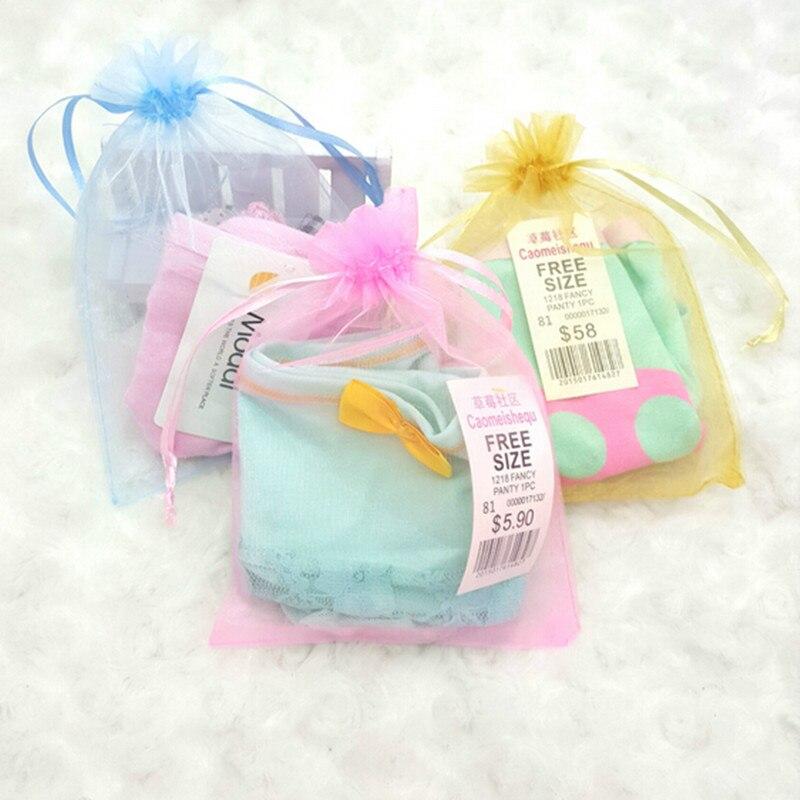 8385aa06af3e6 20 30 cm اورجانزا حقيبة مجوهرات الحقيبة أكياس الحلوى الرباط الأورجانزا  الحقيبة الزفاف الإحسان هدية متعدد الألوان 7.8 11.8 بوصة