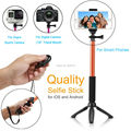 "Extendable Self-portrait 39"" Monopod Bluetooth Remote Shutter Wireless Selfie Stick For Nexus 5/6/7/For LG G4 G5 Android/6S iOS"