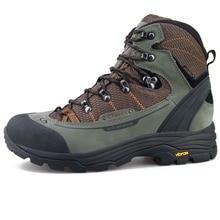 Clorts/непромокаемые охотничьи ботинки Vibram, нескользящая подошва, горные ботинки, мужские походные ботинки из натуральной кожи, 3A003