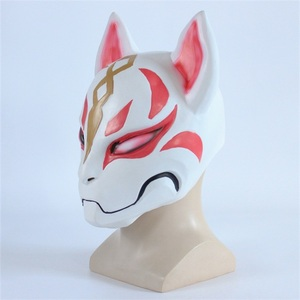Image 2 - Hot Battle Royale Game Fox Drift Skin Cosplay Costumes Mask Funny Adult Halloween Party Latex Masks Props