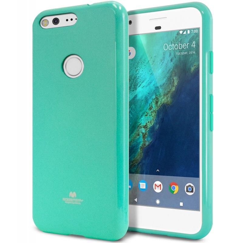 For Google Pixel / Pixel XL Pearl TPU Case, MERCURY GOOSPERY JELLY CASE Bling Shining TP ...