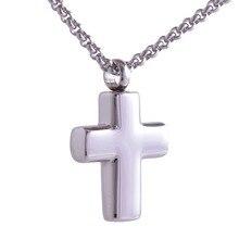 Simple Cross Shaped Memorial Urn