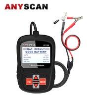 Genuine Foxwell BT100 Car Battery Analyzer 12V Voltage Auto Tester For Flooded AGM GEL BT 100