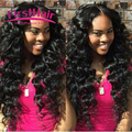 Grace Hair Company Bundles With Closure Virgin Peruvian Deep Wave With Closure 4 Bundle 7A Peruvian Virgin Hair With Closure