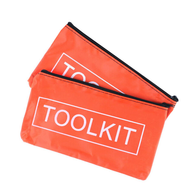 Waterproof Oxford Cloth Tool Kit Bag Zip Storage Instrument Case Pouch