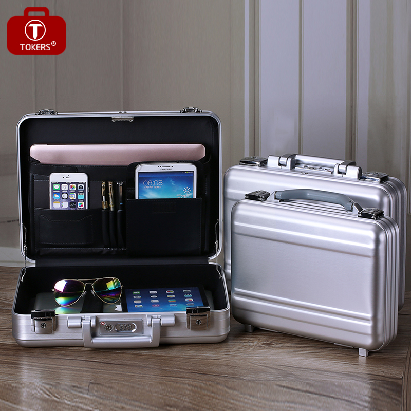 Superbe Aliexpress.com : Buy Pure Aluminum Briefcase Tools Laptop Men Women Lawyer  Business Office File Storage Box Precision Instrument Custom From Reliable  ...