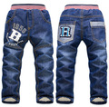 2015 New Winter Children pants Thick Warm Cashmere Kids Pants Baby Boys Denim Jeans Two Layers Girls Trousers for 3-7 y