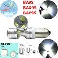 2 unids Alta Potencia BYX9S 30 W canbus BAX9S BA9S T4W H6W H21WW5W 6SMD xbd Chip luces Direccionales Laterales No error Inversa Luces Marcadoras lámparas