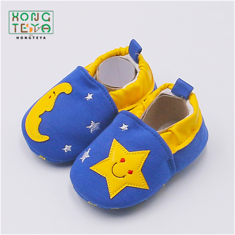 2020 Kid Girls Boy First Walkers Soft Infant Toddler Shoes Cute Flower Soles Crib Shoes Footwear For Newborns Baby Shoes