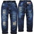 3961 патч зимние джинсы мальчик джинсы двухэтажные джинсовые и флис ТЕМНО-СИНИЙ ПОВСЕДНЕВНЫЕ брюки брюки для мальчиков ребенок теплые новый 2016