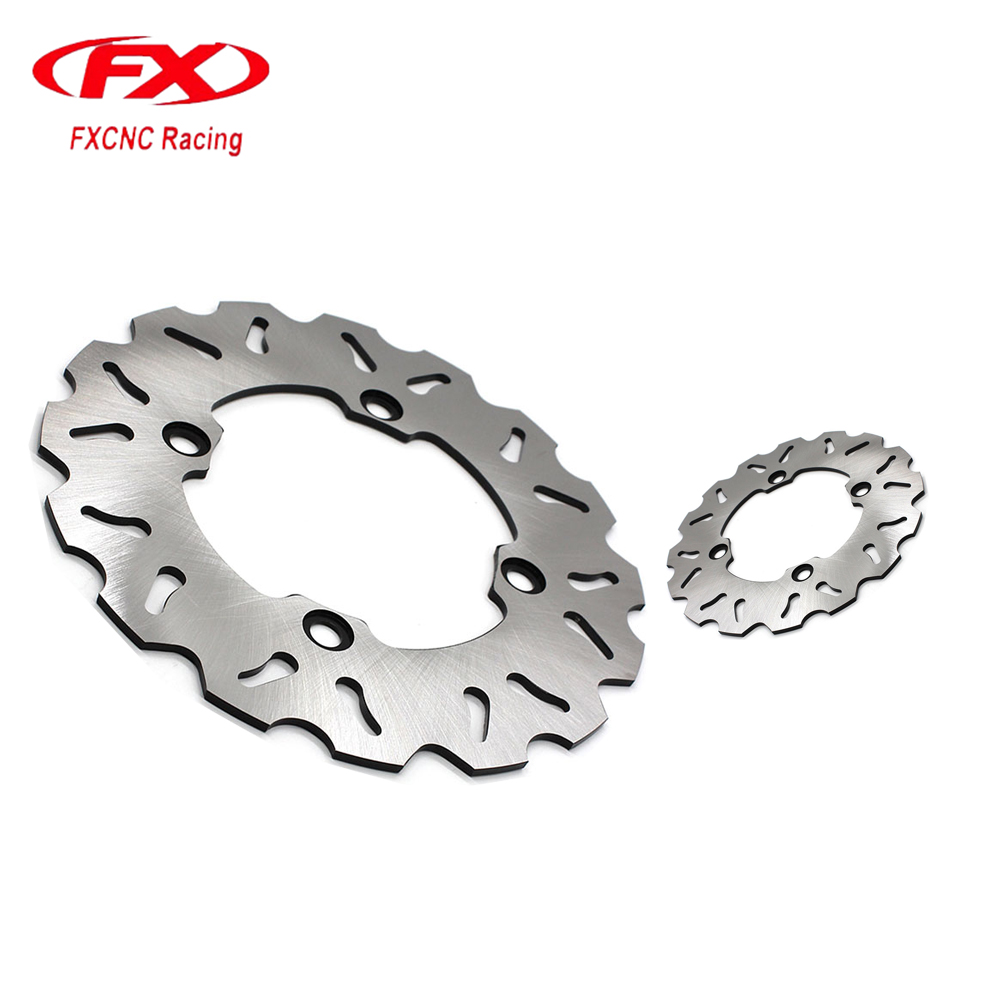 FX Motorcycle Brake Disc 220mm Floating Rear Brake Disc Disks Rotor For Hondo CBR150R GB 400 T.T. XRV 750 Africa Twin