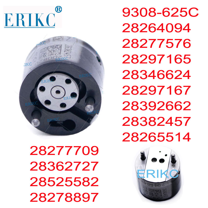 ERIKC Diesel Injecteur Vanne 9308-625C 9308625C 625C 9308Z625C 28278897 28265514 28382457 pour DELPHI EMBR00101D 1100100-ED01