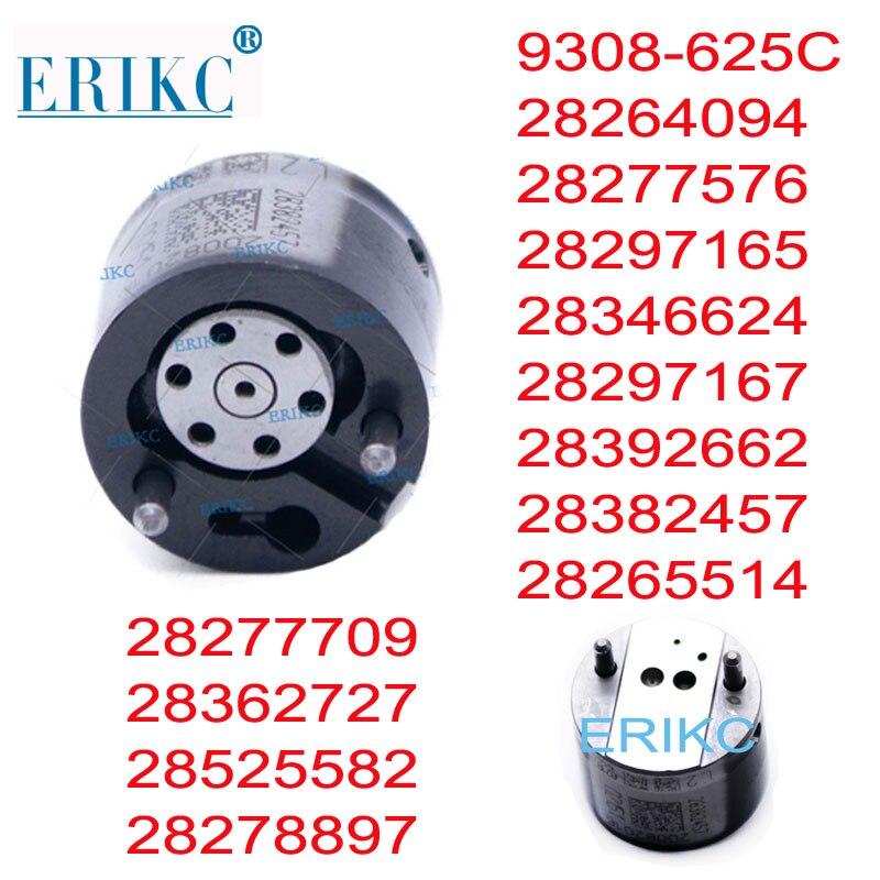 ERIKC inyector Diesel Válvula de 9308-625C 9308625C 625C 9308Z625C 28278897, 28265514 de 28382457 para DELPHI EMBR00101D 1100100-ED01