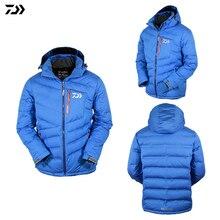Jacket Autumn Winter Fishing Down Jacket Coat Clothes White Duck Down Keep Warm Windproof Waterproof Fishing Jacket