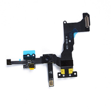 5pcs/lot Original For Apple iphone 5S Front Camera With Sensor Flex Cable Ribbon Assembly free shipping With Tracking Number