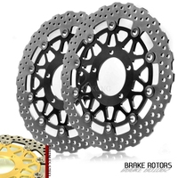 Motorcycle accessories Front Disc Brake Rotor Scooter Front Rear Brake Rotor For KAWASAKI ZX 14R ZZR1400 GTR1400 2006 2014