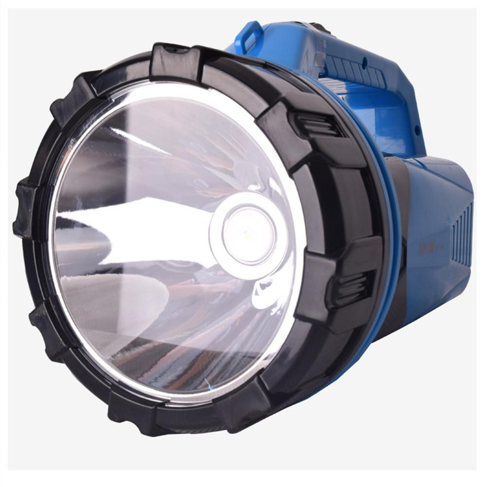 CHLANGLIANGZHE linterna portátil LED linterna reflector recargable incorporada de la batería de litio Luminarias impermeable