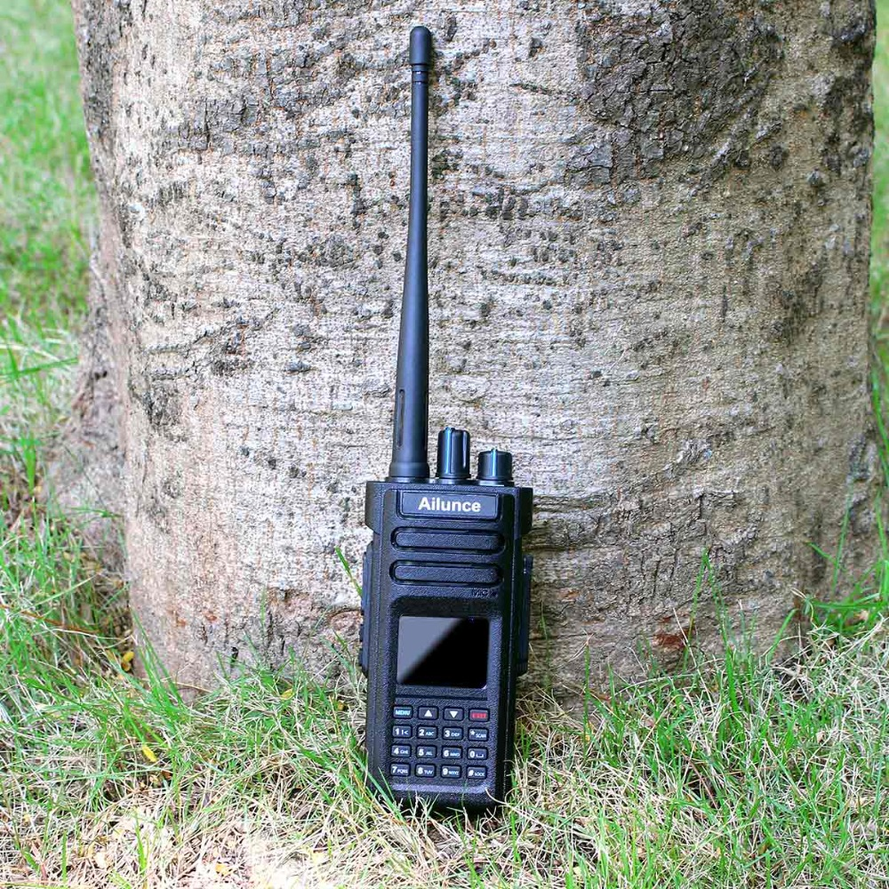 RETEVIS Ailunce HD1 DMR Radio Digital Walkie Talkie Ham Radio Amateur GPS DMR VHF UHF Dual Band DMR Two-Way Radio Communicator