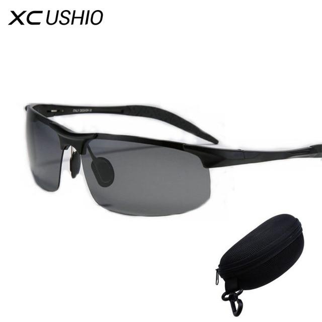 Best Polarized Bicycle Glasses Cycling Eyewear Polarized Fishing Sunglasses Cycling Glasses Sun Glasses Aluminum Magnesium Alloy
