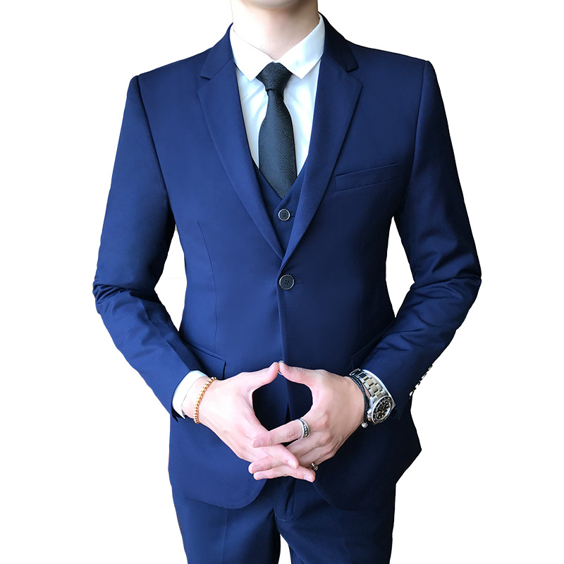Men Blazer Jacket Men's Slim Business Casual Dress Suit Jackets Male Solid Color Single Breasted Comfortable Coats Size M 4XL