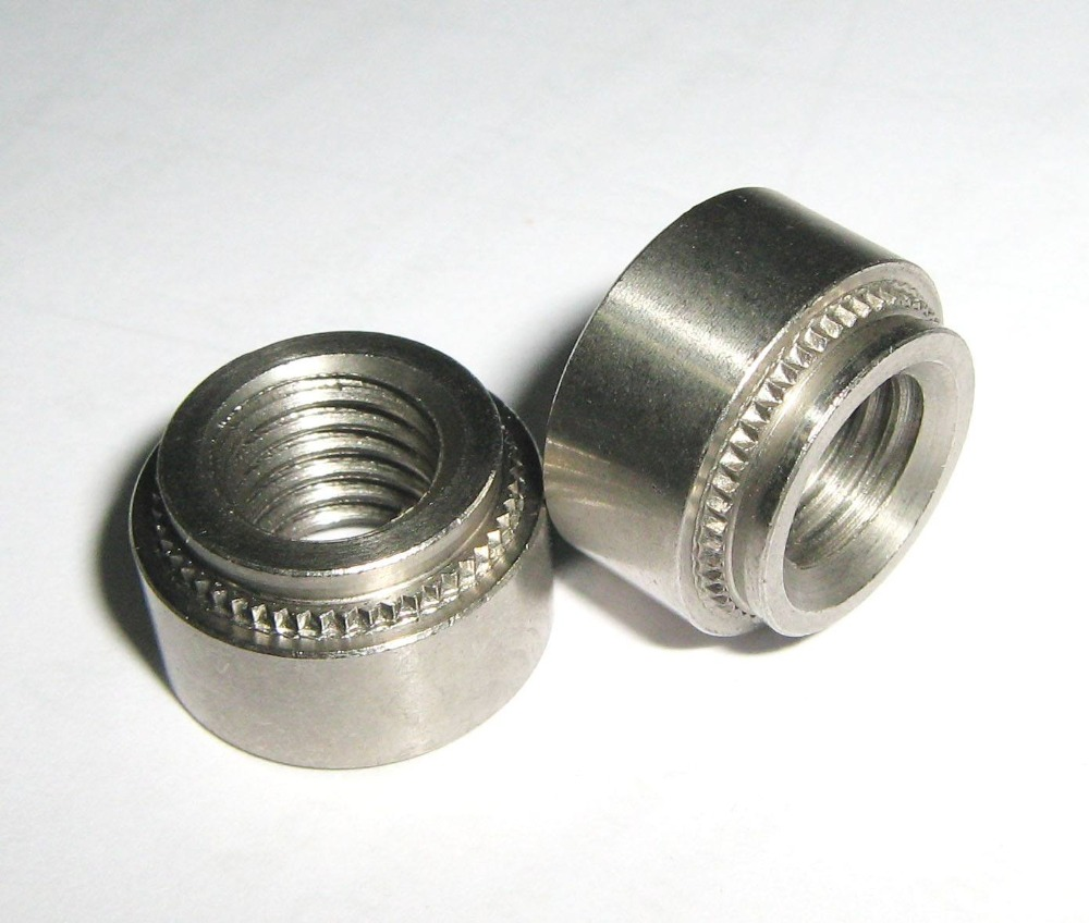 SHORPIOEN Metric Self Clinching Nut Zinc M5 x 0.8-1 BC-M5-1NCL Box of 5000