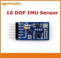 Fast Free Ship 1pcs on board MPU9255 10 axial inertial navigation module10 DOF IMU Sensor(B)gyroscope acceleration sensor