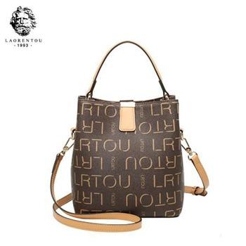 LAORENTOU 2020 fashion summer single shoulder slung ladies bag portable bucket bag