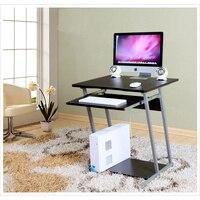 Новые деревянные/металл компьютерный стол/PC стол, офисный стол, металлический компьютерный стол, простой стиль офисной мебели