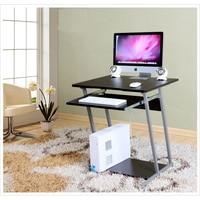חדש עץ/מתכת שולחן מחשב/שולחן מחשב/שולחן מחשב, שולחן במשרד, שולחן מחשב מתכת, סגנון פשוט ריהוט משרדי