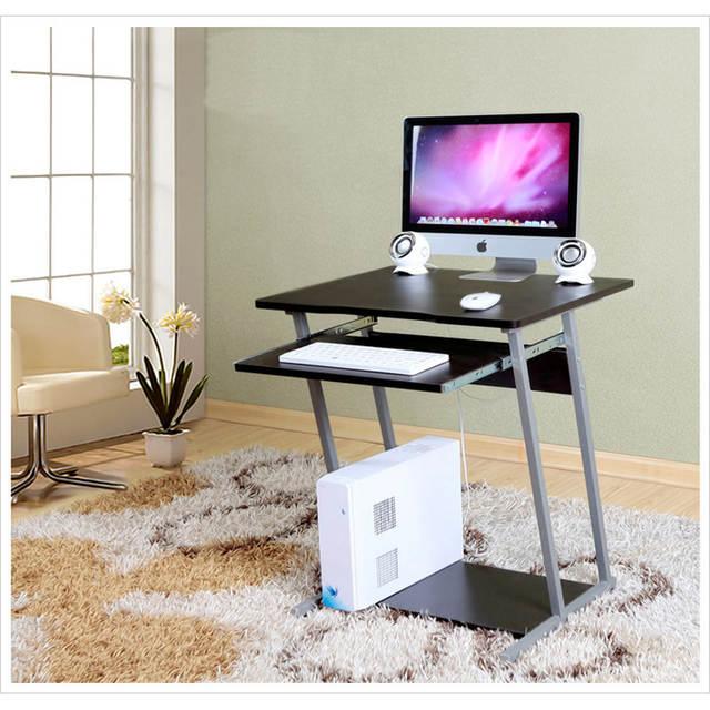 online shop new wooden metal computer desk computer table pc table rh m aliexpress com
