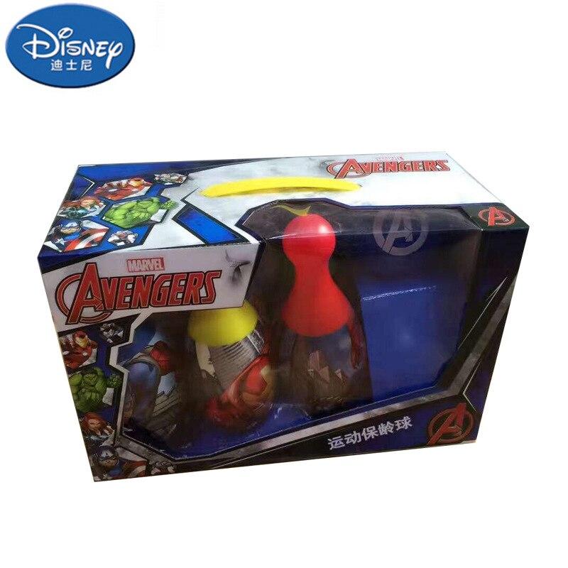 Didsney Открытый забавная игрушка спортивные Аутентичные marvini Детский костюм для боулинга Мстители Боулинг головоломка набор игрушек для детей - Цвет: 1