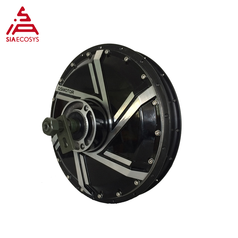 <font><b>QS</b></font> <font><b>Motor</b></font> 8000W <font><b>273</b></font> 50H V2 in wheel hub <font><b>motor</b></font> 200mm dropout for 17inch 19inch electric scooter image