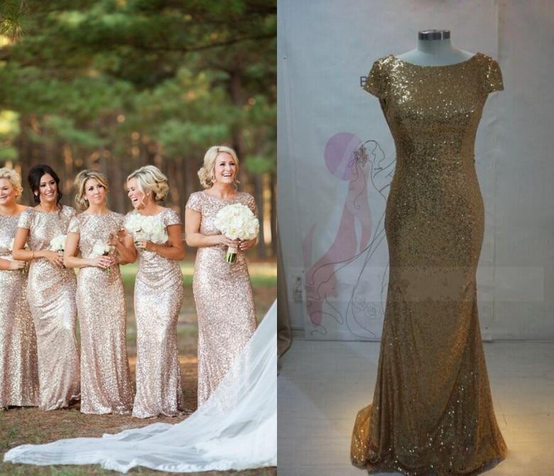 Popular Cheap Gold Bridesmaid Dresses-Buy Cheap Cheap Gold ...