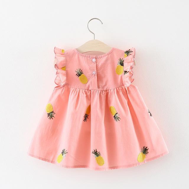 Newborn Cotton Pineapple Dresses