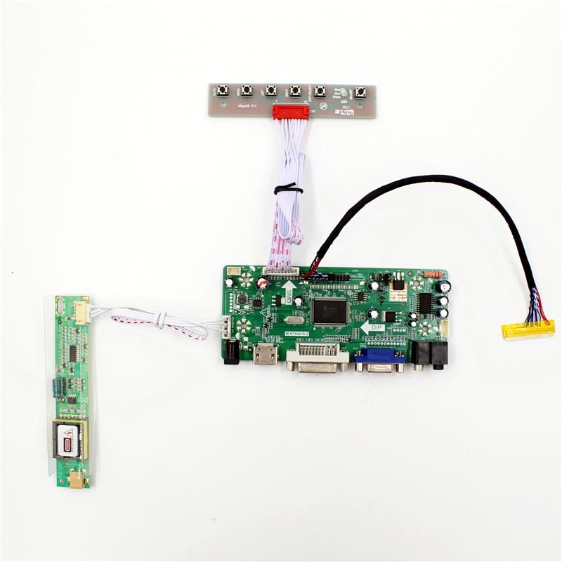 HDMI+DVI+VGA LCD LED Controller Converter Board Monitor Kit for LP154WX4-TLC4