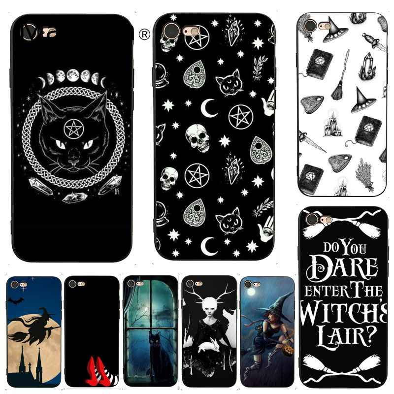 MaiYaCa For iphone 7 Case Witchcraft Luxury Cool Phone Accessories Case for iPhone X 8 7 6 6S Plus X 5 5S SE XS XR Cases