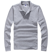 Марка Мужчины Polo Hombre Рубашки Мужская Мода Воротник рубашки С Длинным Рукавом Случайные Camisetas Masculinas Плюс Размер S-XXXL Поло Толстовка