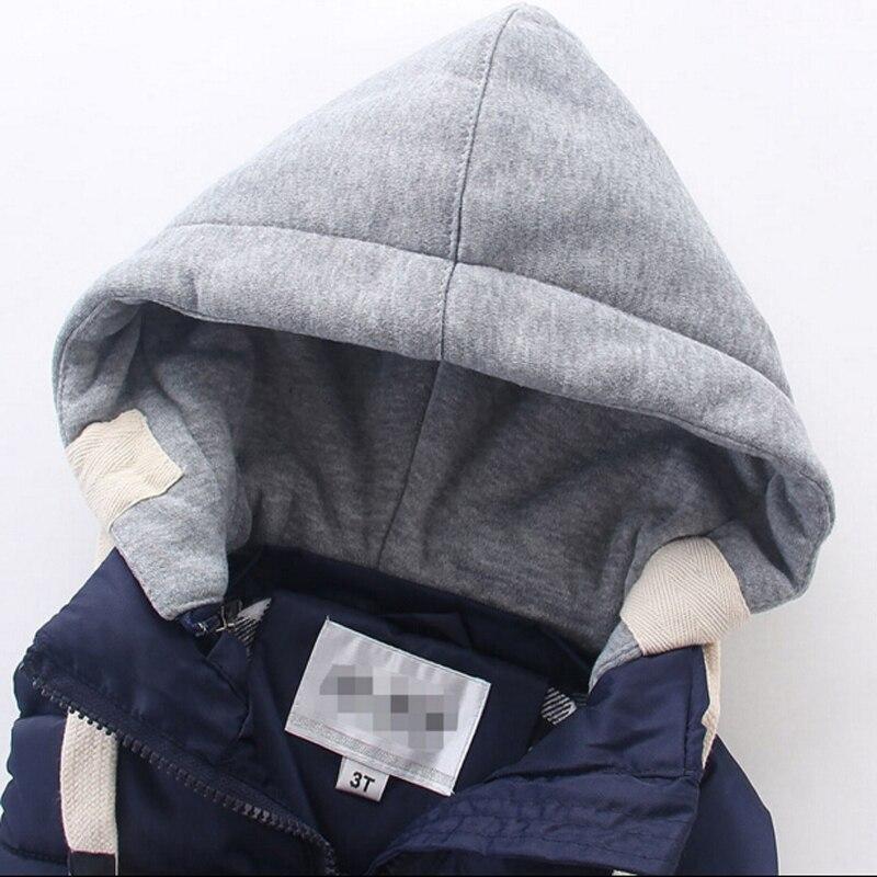 Image 4 - children warm vest kids cotton padded thicken waistcoat kids outwears vest boy&girls jacket baby clothes children clothing-in Vests from Mother & Kids