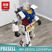 2018 New Lepin 26001 MOC Series Fictional Manned Robot Mobile Suit Building Blocks Bricks Educational Toys Kids DIY Gifts