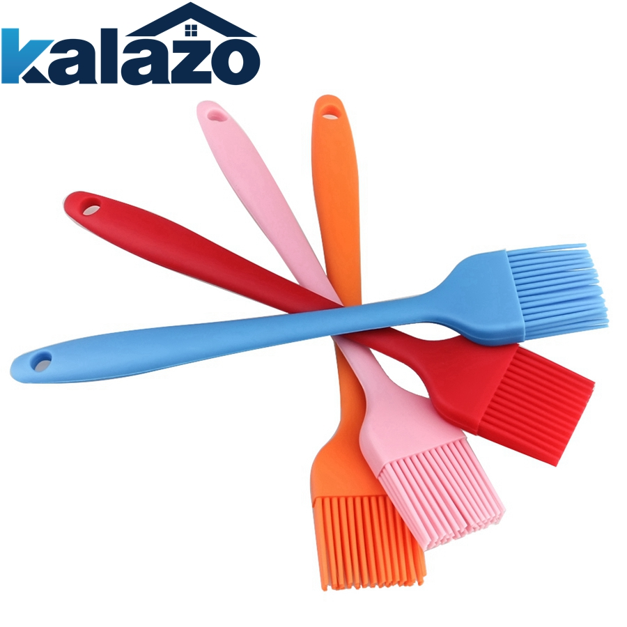 Multi Color Silicone Basting Pastry Brush Oil Brushes For Cake Bread Butter Baking Tools Safety BBQ Barbeque Brush