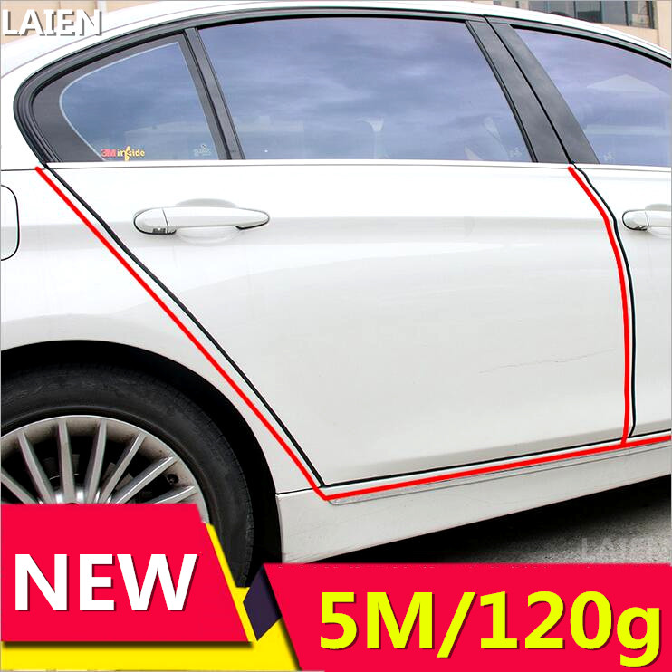 Image 4 - New product 5Meter car door adhesive anti shine fit For Audi A3 A4 A5 A6 Q3 Q5 Q7 Auto Decal Accessories Car Styling-in Car Stickers from Automobiles & Motorcycles