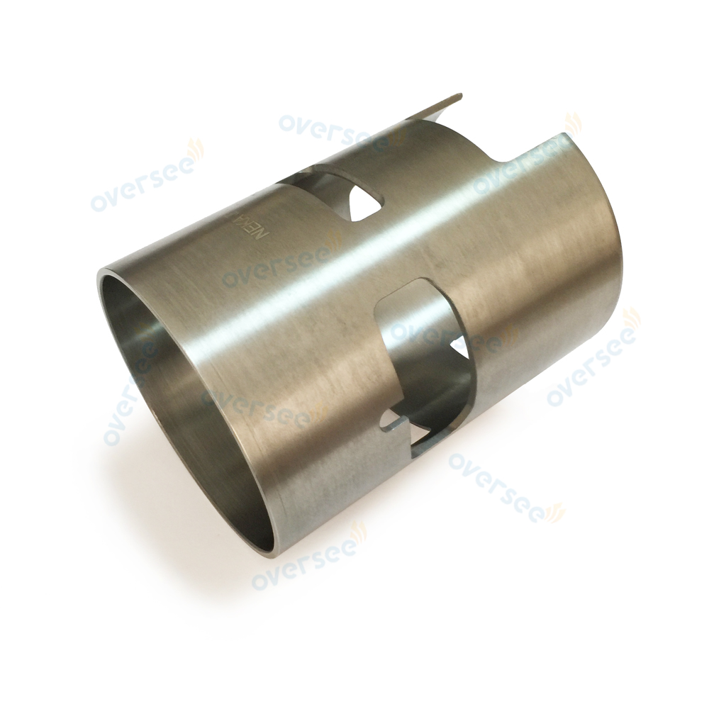 6E5-10935-00 Cylinder Liner Sleeve (Left SIDE) , ID 90mm For Yamaha 115HP outboard boat engine motor brand new aftermarket parts
