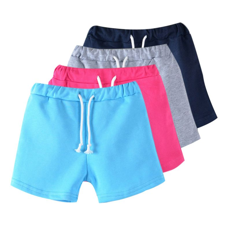 New candy color boys shorts hot summer beach baby pants shorts kids children pants fie for 3-13Y P2 chic mult color trimmed beach shorts