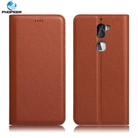 Original PHOPEER Luxury Retro Genuine Leather Case For Letv Cool1 Dual Pro Mobile Phone Filp Cover