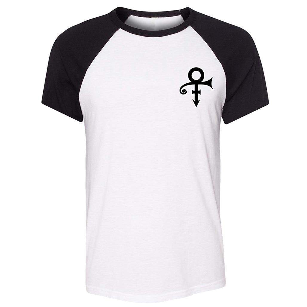 Danny zuko black t shirt - Rogers Nelson Hollow Circle Arrow Men Raglan Short T Shirt Exo Diamond Symbol Tshirts Love Heart