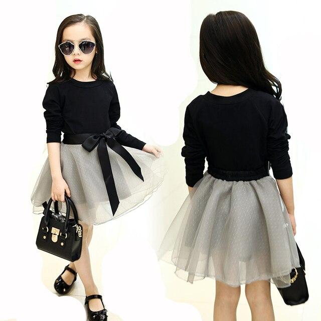 c558373c4d Conjunto de ropa de algodón informal para niñas conjunto de ropa de manga  larga Camiseta +