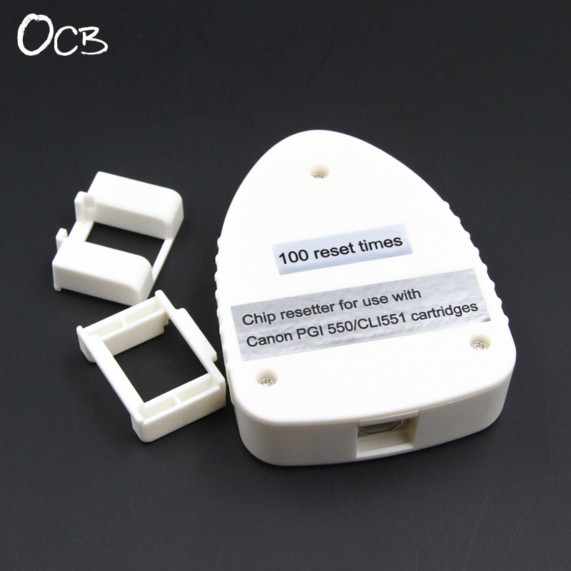 Cartridge Chip Resetter For Canon PGI-550 CLI-551 For Canon IP7250 IP8750 MG7150 MG5450 MG5550 MG6350 MG6450 MX725 MX925 IX6850 cs dx18 universal chip resetter for samsung for xerox for sharp toner cartridge chip and drum chip no software limitation