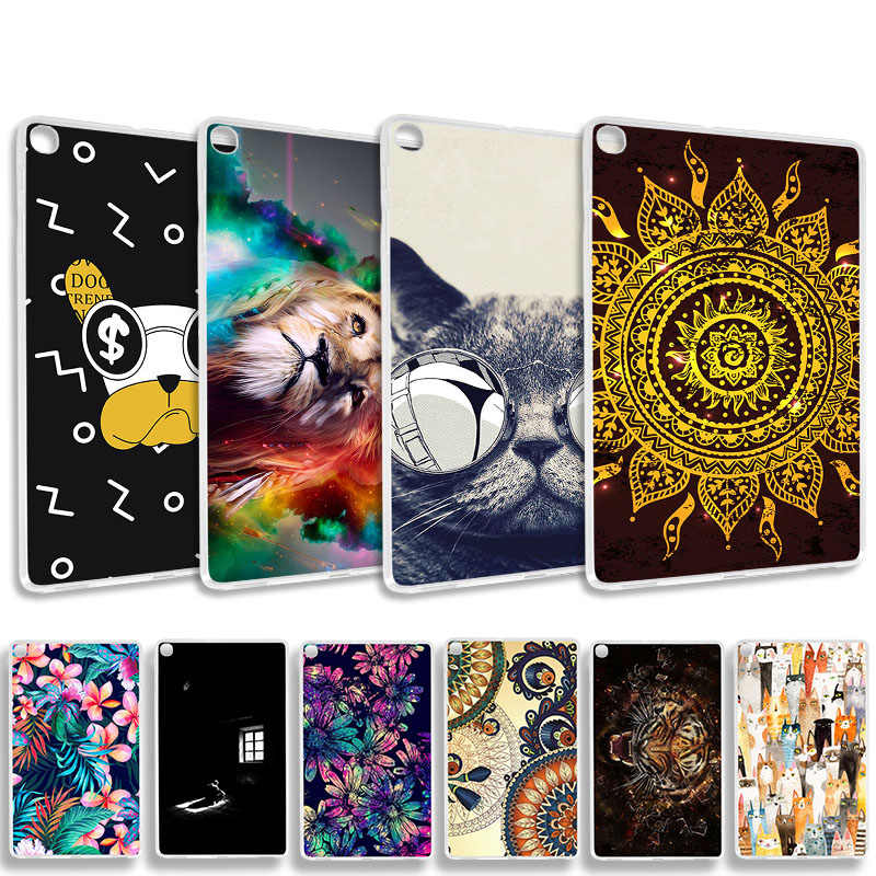 Tablet Case For Samsung Galaxy Tab A 10.1 2019 Case Silicone Samsung Tab A 10.1 2019 SM-T515 SM-T510 T515 T510 Covers Coque Capa
