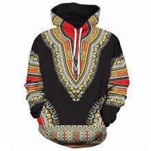 Men Women Hoodies Sweatshirts African folk-custom 3D Print H