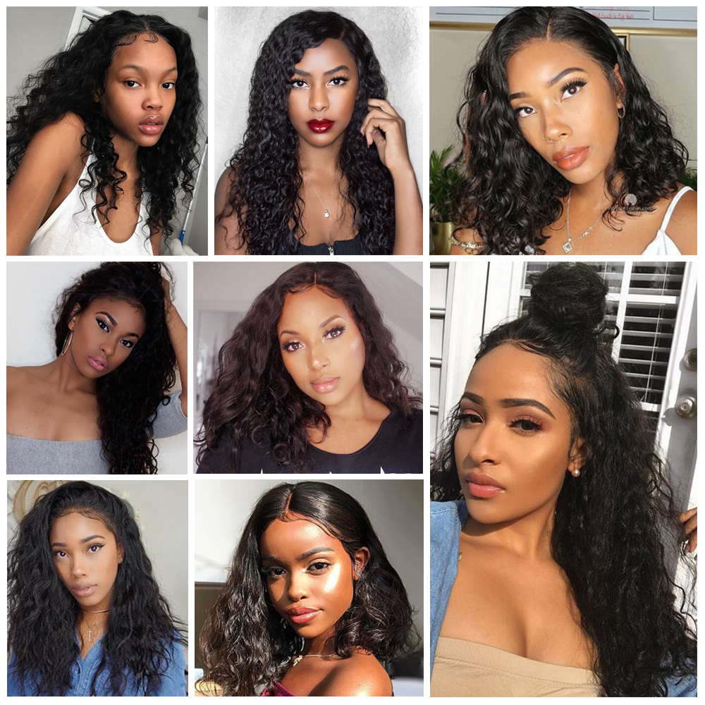 BEAUDIVA Brazilian Curly Human Hair Wigs For Charming Women Remy Hair - Beauty Supply - Photo 6